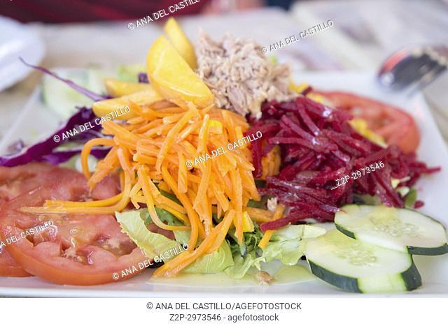 Mediterranean salad, Spain