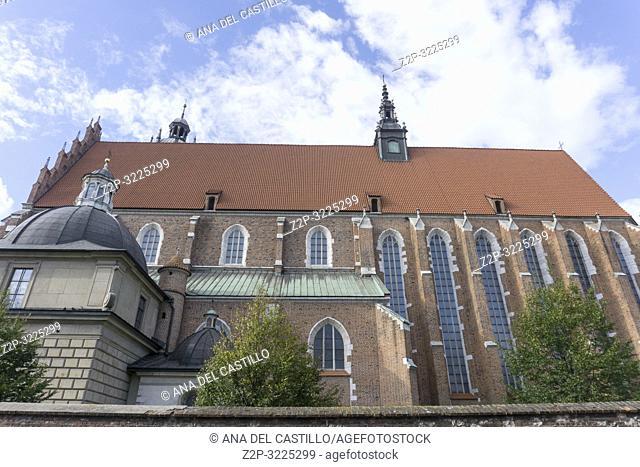 Corpus Christi church in Krakow Poland