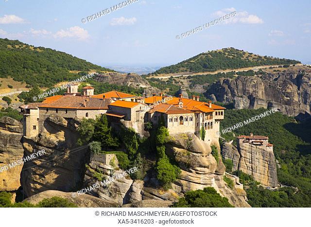 Holy Monastery of Varlaam, Meteora, UNESCO World Heritage Site, Thessaly, Greece