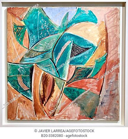 """""""L'Arbre"""", 1907, Pablo Picasso, Picasso Museum, Paris, France, Europe"""