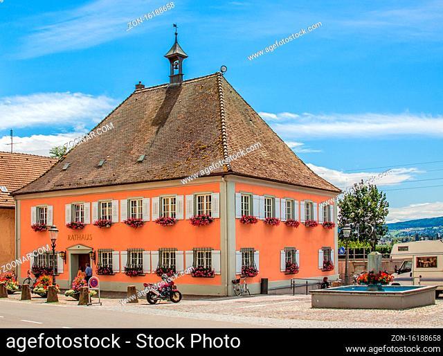 Rathaus, Allensbach am Bodensee