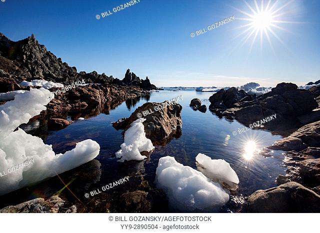 Rugged Coastal Landscape of Crow Head, Twillingate, Newfoundland, Canada