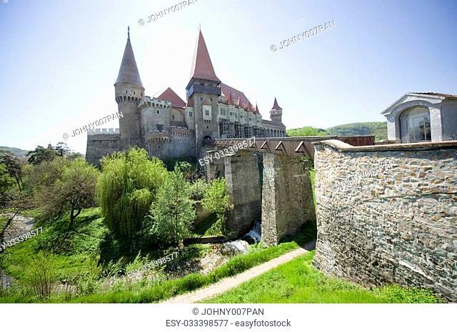 Hunedoara Corvin castle, Transylvania, Romania