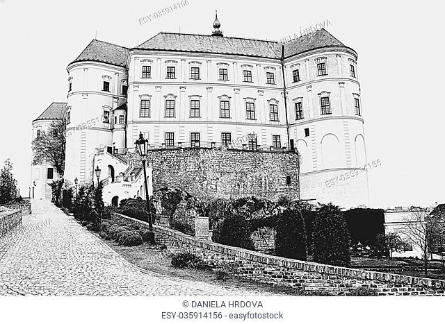 Mikulov Castle, CZ