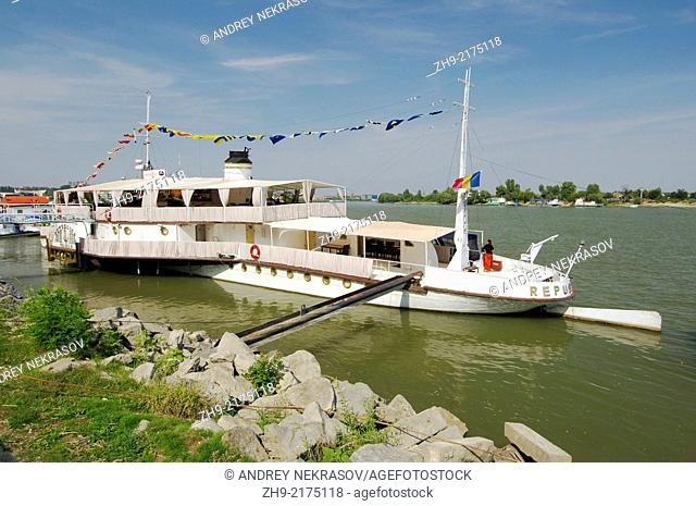 Marina on Danube, Tulcea, Romania, Europe