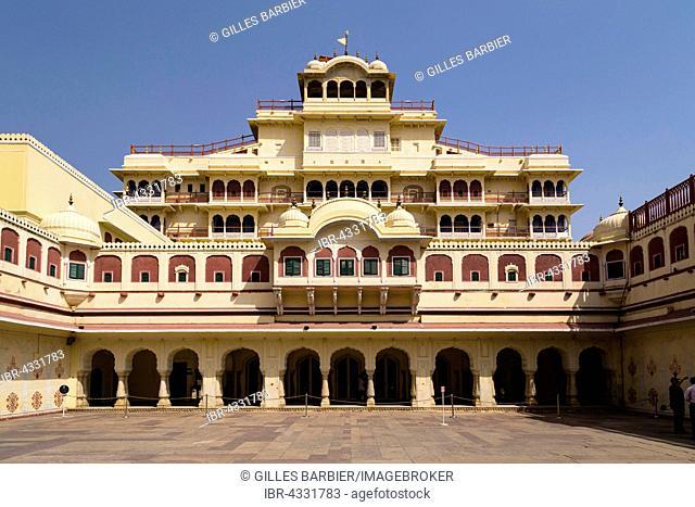 Mubarak Mahal, City Palace, Jaipur, Pink City Jaipur, Rajasthan, India