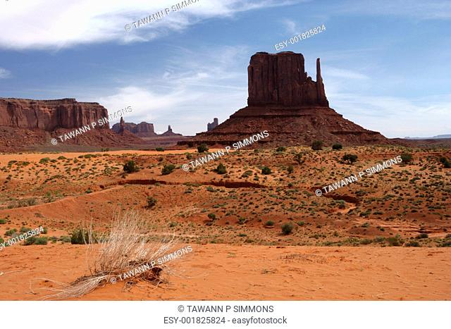 Grand View Of Monument Valley