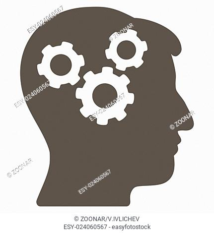 Mind Flat Icon