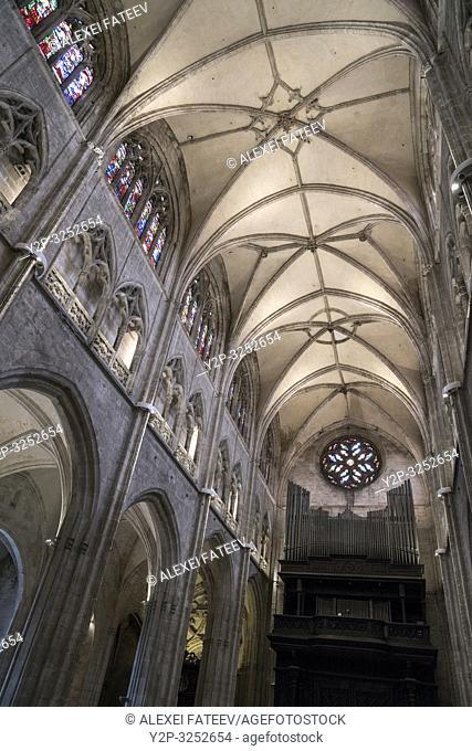 Cathedral of San Salvador in Oviedo, Asturias, Spain