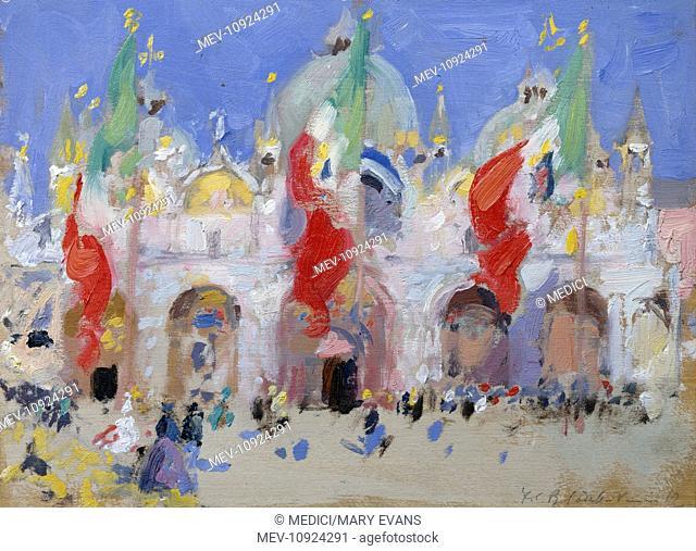 St Mark's Square, Venice'