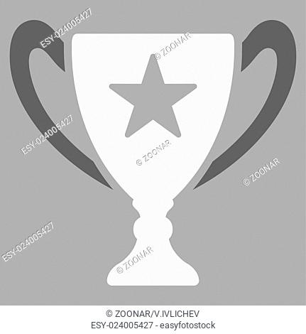 Trophy icon from Competition amp; Success Bicolor Icon Set