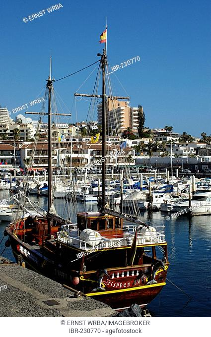 Port, Puerto de Santiago, Tenerife, Canary Islands, Spain