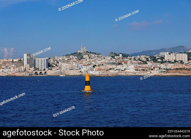 Holidays in southern Corsica. Discovery of the Sanguinaires Islands, next to the city of Ajaccio