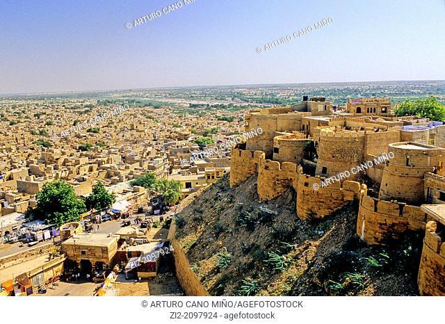 Fort, Jaisalmer, Rajasthan state, India