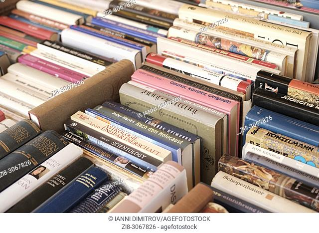 Second hand books,Berlin,Germany