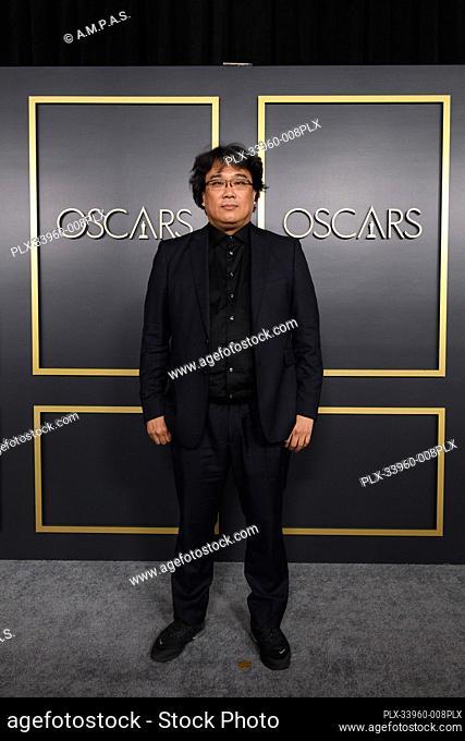 Oscar® nominee Bong Jooh Ho arrives at the Oscar Nominee Luncheon held at the Ray Dolby Ballroom, Monday, January 27, 2020