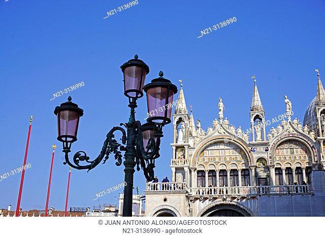 Basilica di San Marco. Detail. San Marco Square, Venice, Veneto, Italy, Europe