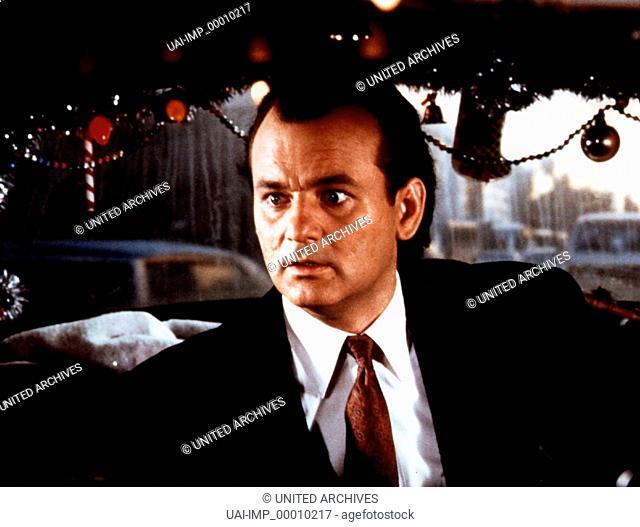 Die Geister, die ich rief ..., (SCROOGED) USA 1988, Regie: Richard Donner, BILL MURRAY, Stichwort: Weihnachten
