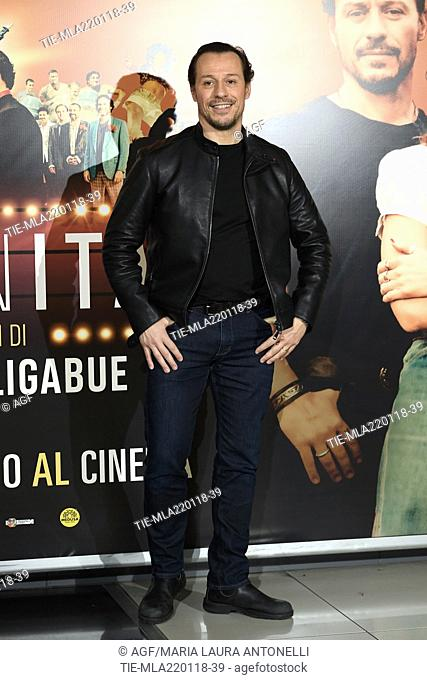 Stefano Accorsi during 'Made in Italy' film photocall, Rome, 22/01/2018
