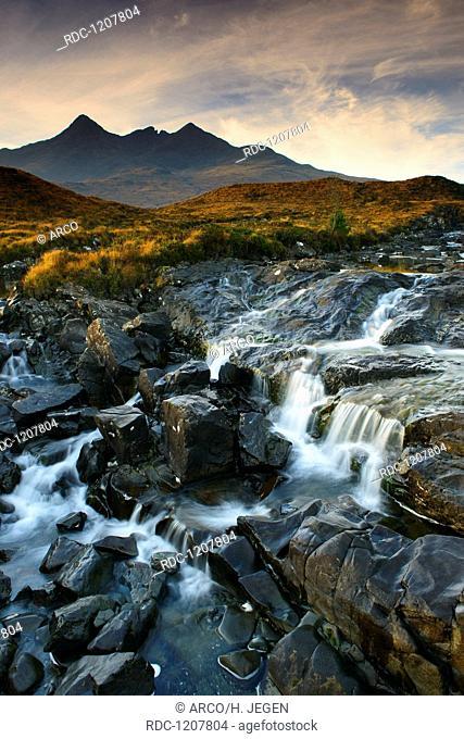 Allt Dearg Mor, Isle of Skye, Schottland