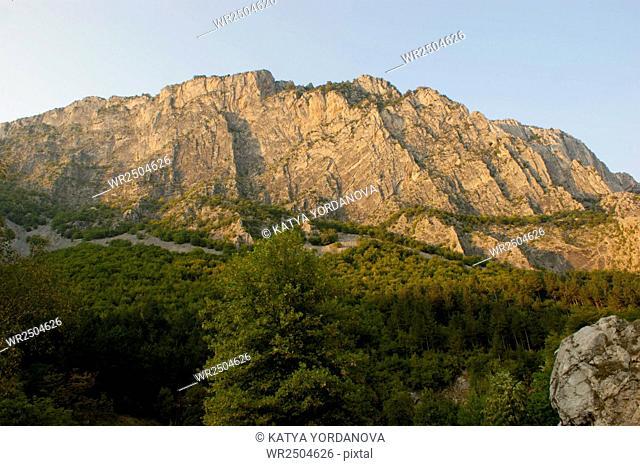 Rocks near Vratsa town, Bulgaria