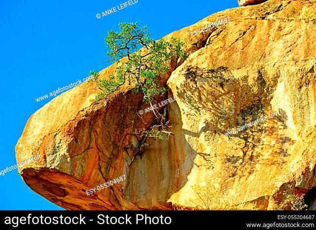 Matobo National Park, Zimbabwe, rock formations