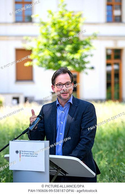 06 June 2019, Berlin: Florian Pronold (SPD), Parliamentary State Secretary in the Federal Ministry for the Environment, Nature Conservation and Nuclear Safety