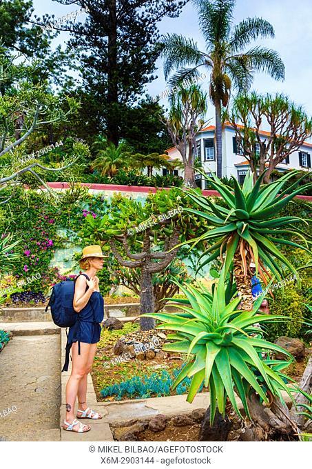 Madeira Botanical Gardens. Funchal. Madeira, Portugal, Europe