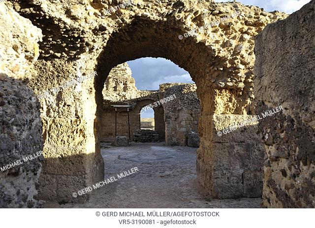 Tunesia: Karthago the Unesco World Heritage Site with roman ruins of the Epoque Haniball