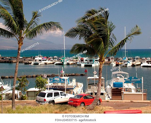 Maalaea, Maui, HI, Hawaii, Maalaea Bay, Maalaea Small Boat Harbor, marina