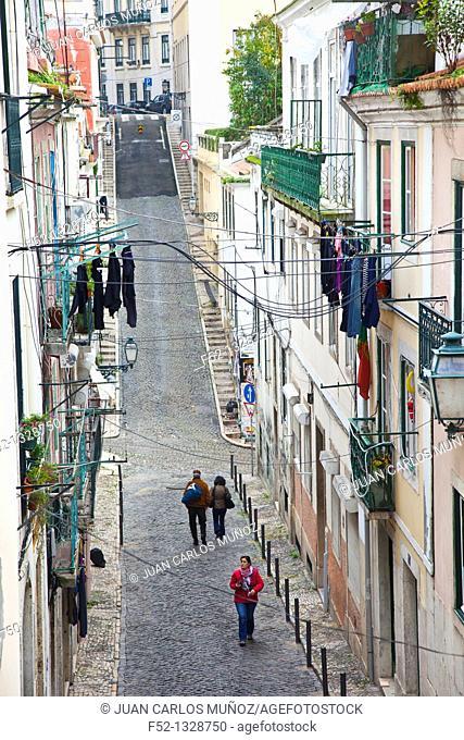 Travessa do Sequeiro, Lisbon, Portugal, Europe