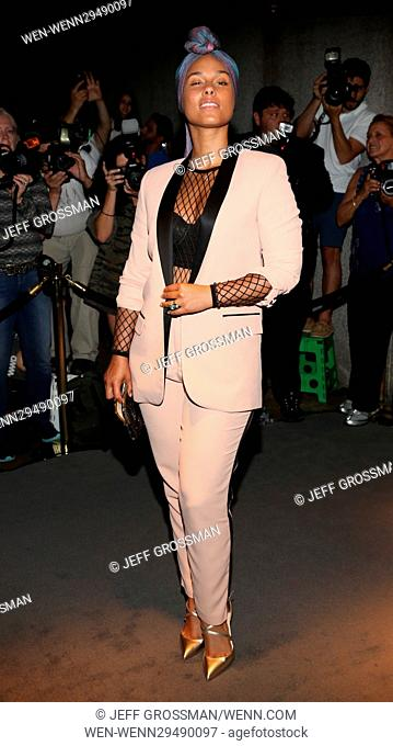 65e232716d85 New York Fashion Week September 2016 - Men s and Women s SS17 - Tom Ford -  Presentation Arrivals Featuring  Alicia Keys Where  New York