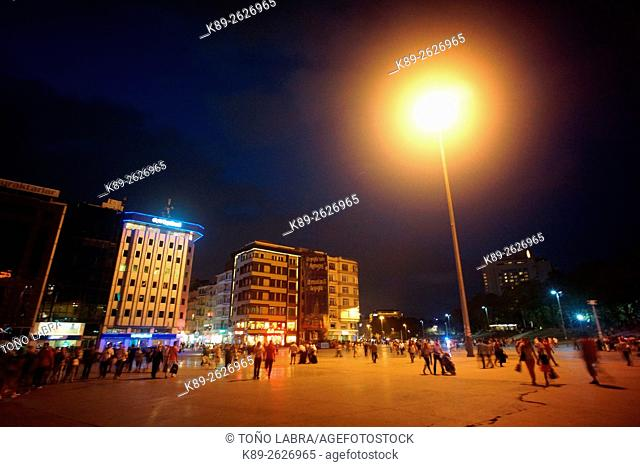 Taksim square. Istanbul. Turkye