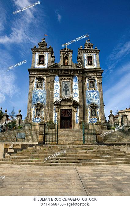Sao Ildefonso Church, Porto Old Town, Portugal