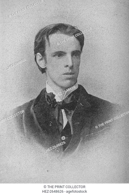 'W. B. Yeats', c1900, (1934). Artist: Unknown