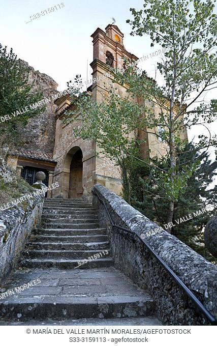 St. Saturio hermitage in Soria. Castilla León. Spain. Europe