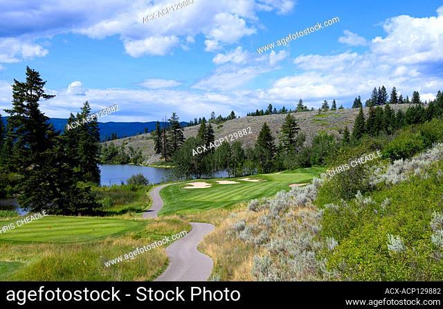 The Rise Golf Course, Vernon, BC, Canada