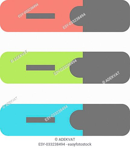 Colored marker highlighters isolated. Marker on white background. Set of colored engineering office marker pens in flat cartoon design style