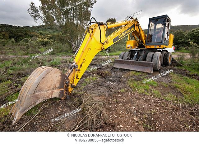 Bulldozer. Excavator macchine