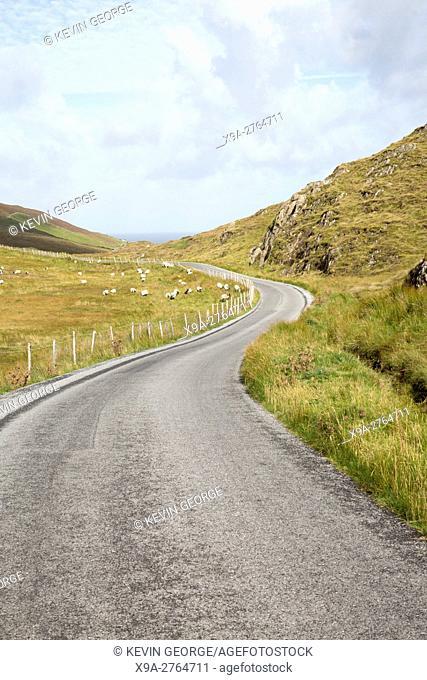 Connemara Loop Route Road, Tully; Connemara; Galway; Ireland