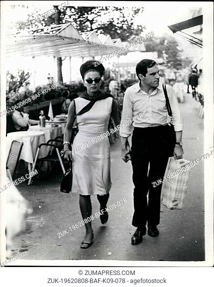 Aug. 08, 1962 - Hand In Hand. Tony & Joan: Like the boulevards of Paris, Rome's via Veneto beckons the Young Ones. No exception are actor Anthony Newley and...