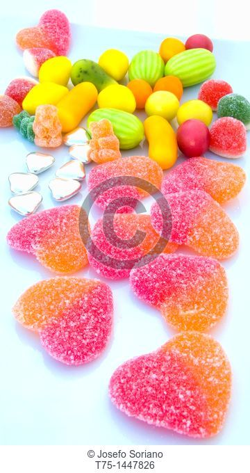 Jellies and candies children