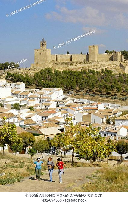 Antequera's castle, XII-XVI century. Malaga province. Andalusie. Spain