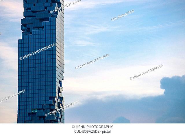 Landmark building in Sathorn, Bangkok, Thailand