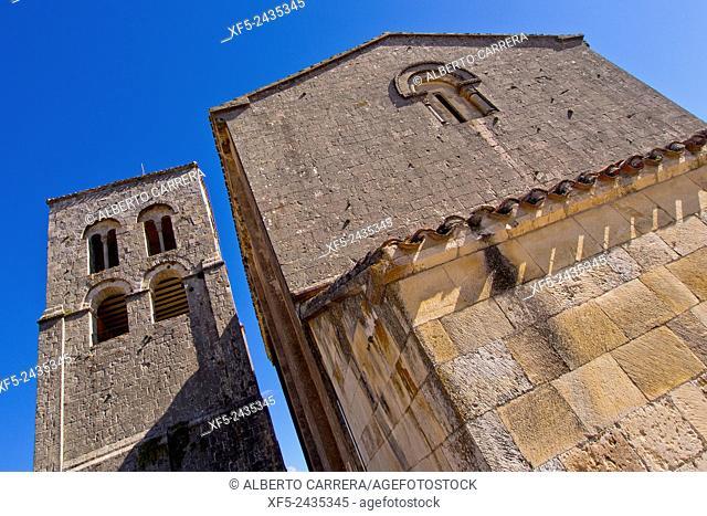 El Salvador Church, Sepúlveda, Medieval Village, Segovia, Castilla y León, Spain, Europe