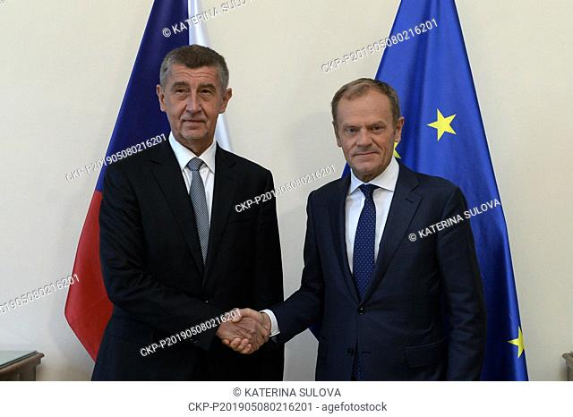 Czech Prime Minister Andrej Babis (ANO), left, considers the strengthening of the member states' influence on the use of the EU subsidies the most important