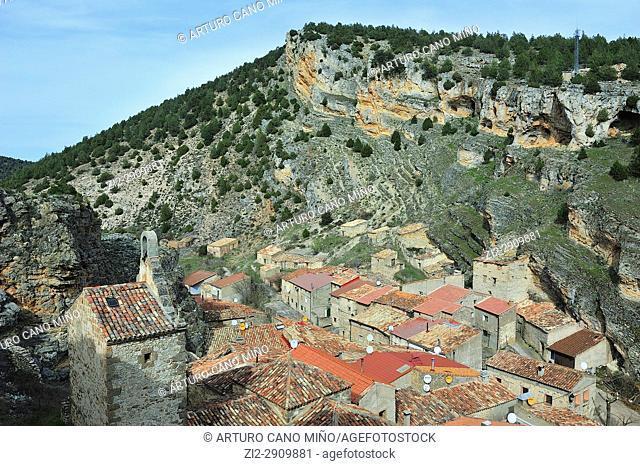 Chaorna town, Soria province, Spain, Castile-Leon, Soria province