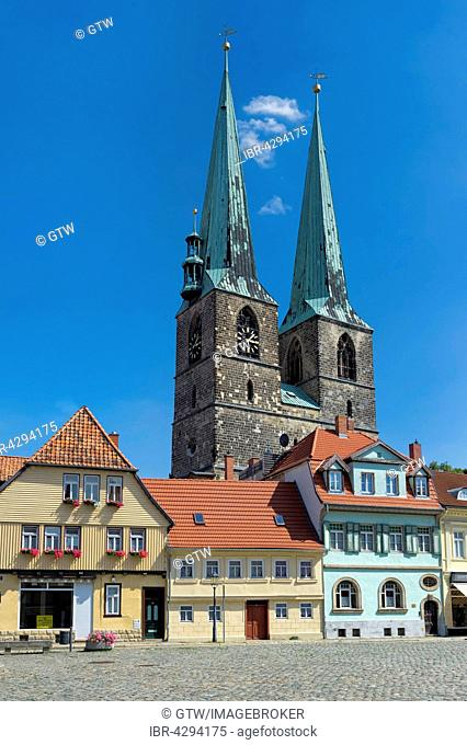 St. Nikolai Church, UNESCO World Heritage Site, Quedlinburg, Harz, Saxony-Anhalt, Germany