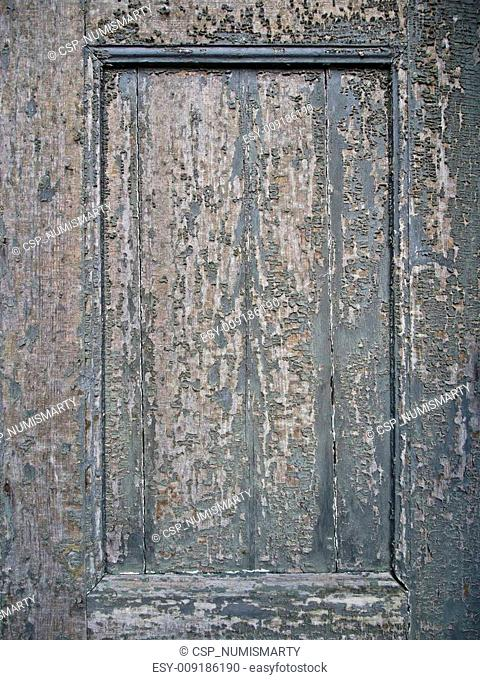 old weathered wooden background with cracked lacquer