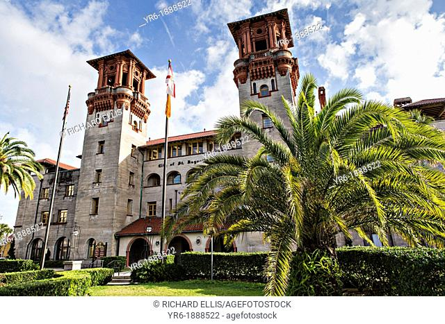 Lightner Museum in St  Augustine, Florida  The building was originally the Alcazar Hotel